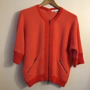 CAbi Womens Cardigan Orange